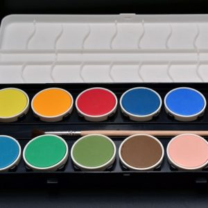 water color palette