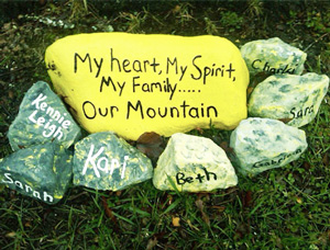 creative-arts-therapy-300x225 - rocks big one yellow with words