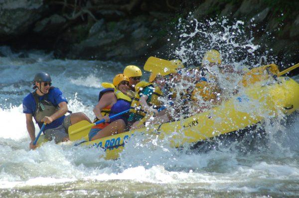 emr white water rafting