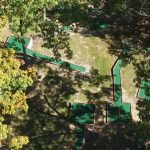 Aerial view of Putt-Putt golf course - English Mountain Recovery